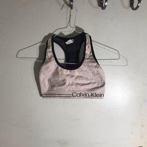 Calvin Klein sports bra